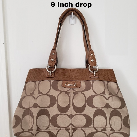 Coach Handbags - Coach Penelope Signature Satchel Handbag